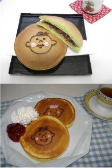 ほぺたんどら焼き&ホットケーキ