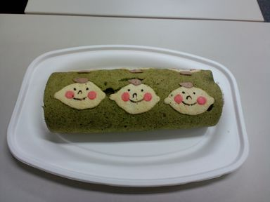 ほぺたんロールケーキ