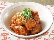 鶏唐揚げの味噌マヨ和え★のレシピへ