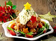 鶏から揚げのクリスマス仕立て★のレシピへ